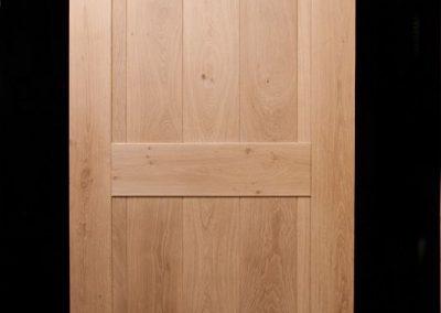 eiken binnendeur klamp deur