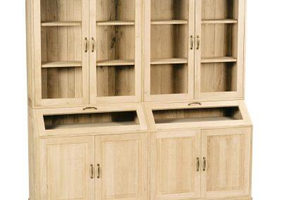 Mercurius 4 deurs vitrine kast