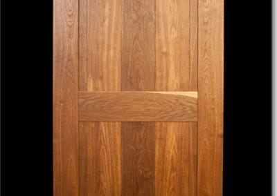 eiken binnendeur klamp deur naturel